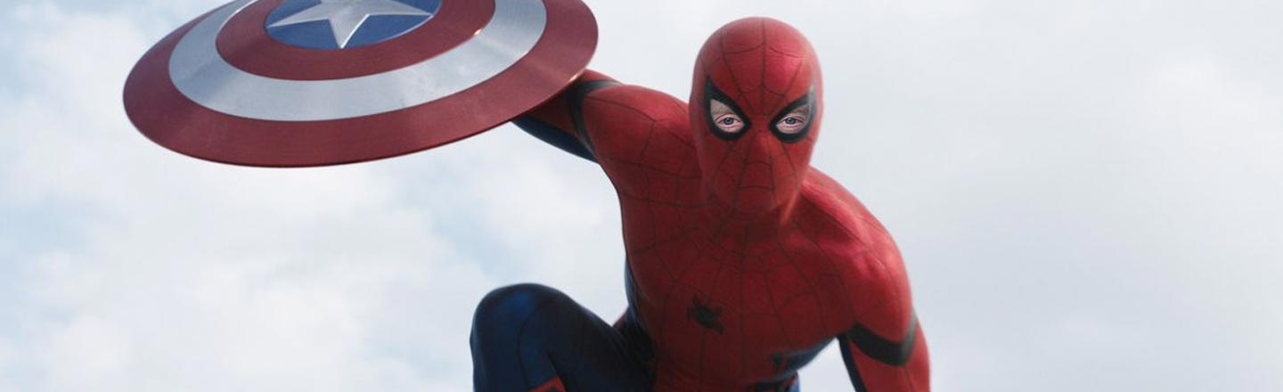 10 Photos Of Spider-Man With Steve Buscemi's Eyes