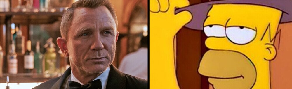 James Bond and The Simpsons Aren't Actually That Different After All