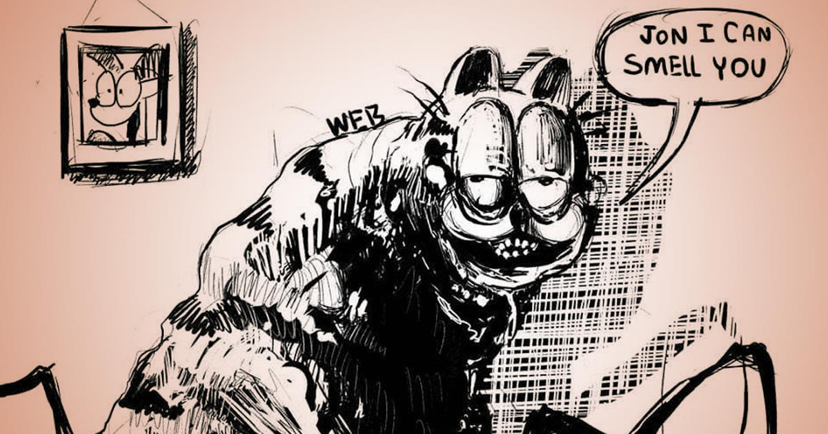Surreal Terrifying Garfield Comics Are Suddenly Everywhere Cracked Com