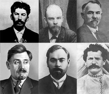 5 Times Historical Figures Teamed Up (School Never Taught) - the crew Stalin and Lenin robbed a bank with