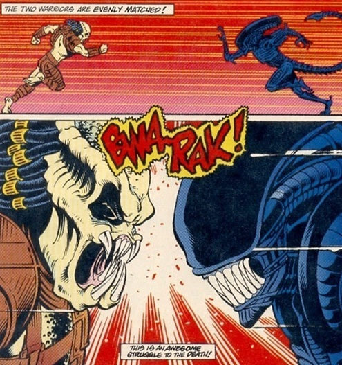 4 WTF Moments From the 'Aliens vs Predator' Cartoon For Kids