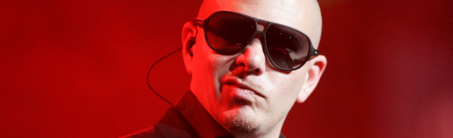 Pitbull's Yell Is Now His Official Trademark