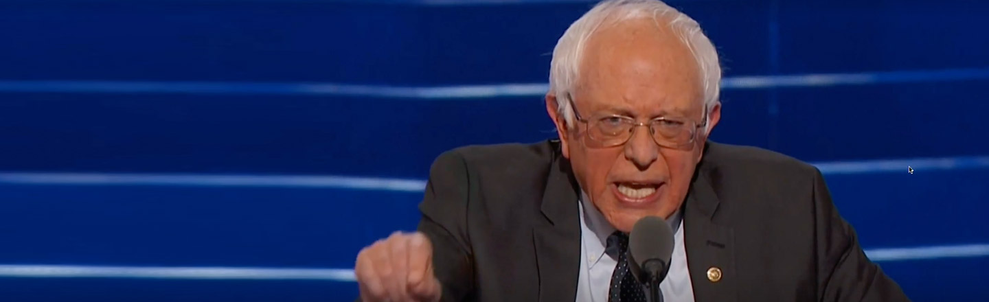 Bernie Sanders Just Realized He Might Get Trump Elected