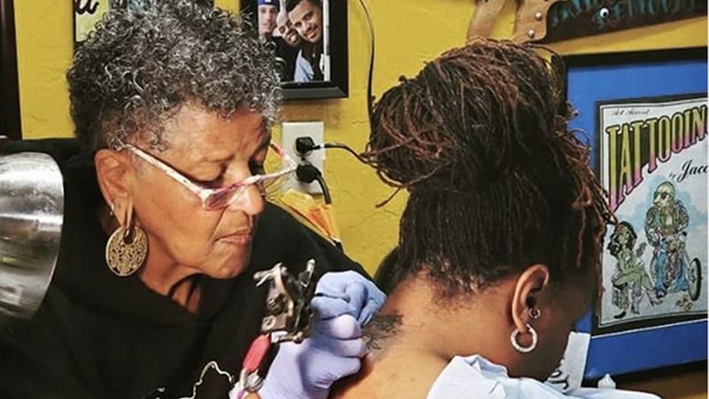 America's First Black Female Tattoo Artist Smudged The Lines Of Segregation