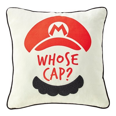apan's Super Mario Theme Park Looks Adorable (But Needs More Waluigi) - a pillow from Super Mario Land at Universal Studios Japan