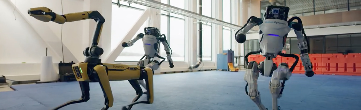 Boston Dynamics' Robots Can Probably Destroy Us All --  In A Dance Battle