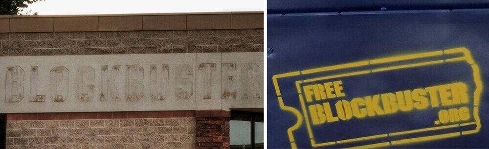 Blockbuster Returns From The Grave As A Tape-Swapping Street Box