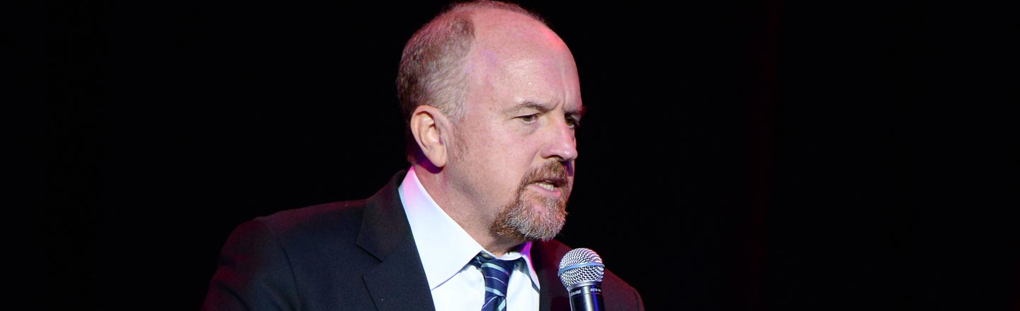 Louis CK Lures Strangers Into Dark Room, Insists On Secrecy
