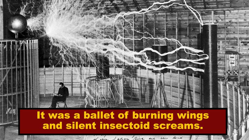 Nikola Tesla's Biggest Coil Turned Butterflies Into Blue Balls Of Fire