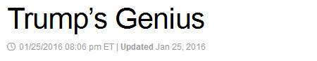 Trump May Be Saving His Biggest (Worst) Surprise For Last