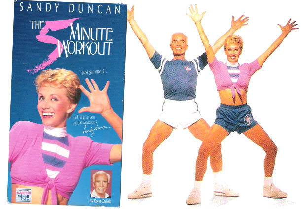 Girl goes sandy duncan body model