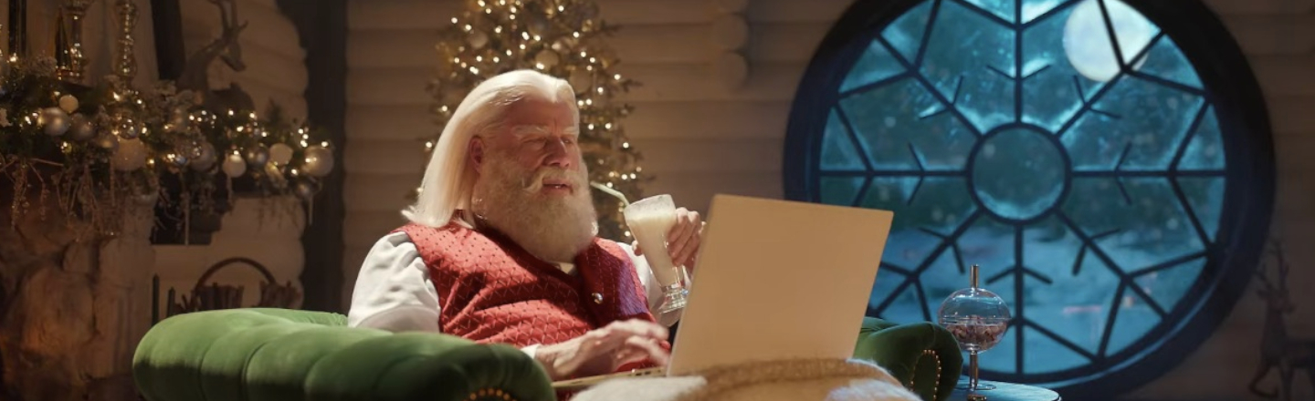 The 'Pulp Fiction' Reunion Happened In A Weird-Ass X-Mas Commercial