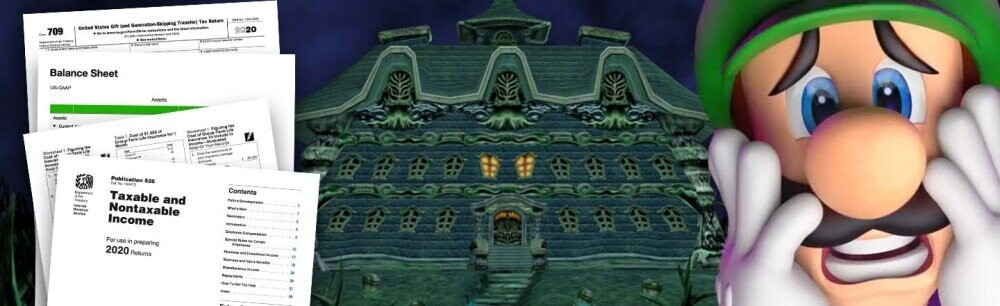 The Crushing Economic Realities of Luigi's Mansion (VIDEO)