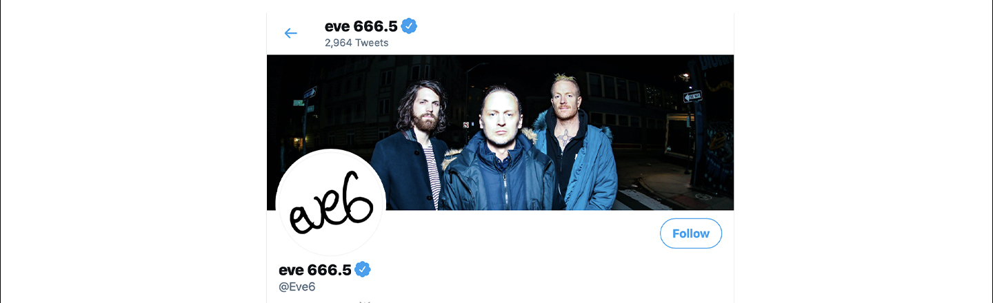 Early 2000s Prom Staple, Eve 6, Gloriously Roasts 90s Rock Goons on Twitter