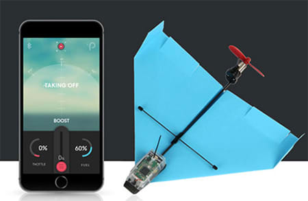 High Tech Meets Analog With This Cool RC Paper Airplane