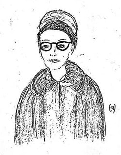 They published a sketch, but it only clearly showed someone in disguise.