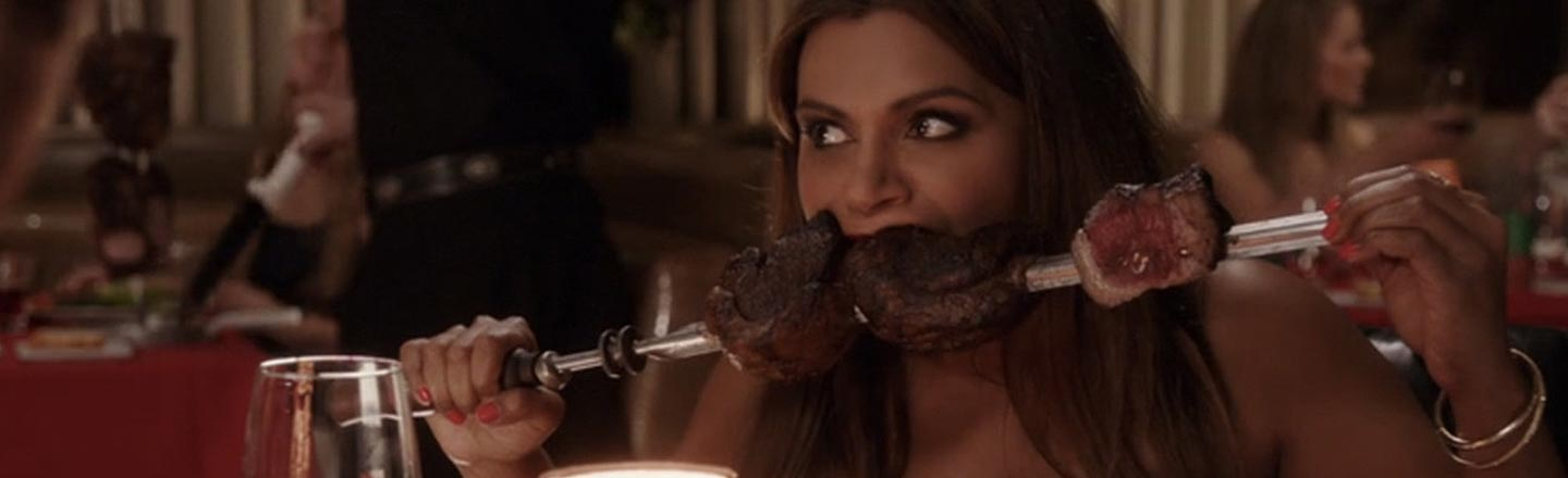 Why Do Sitcoms Think It's Hilarious When Women Eat?