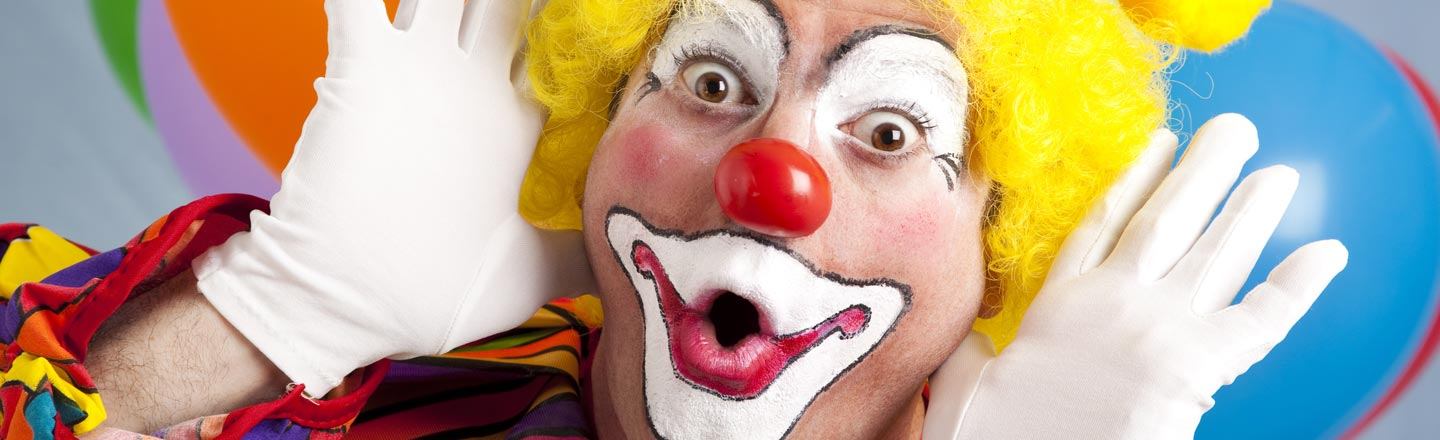 Forget Animals, Get An Emotional Support Clown Instead