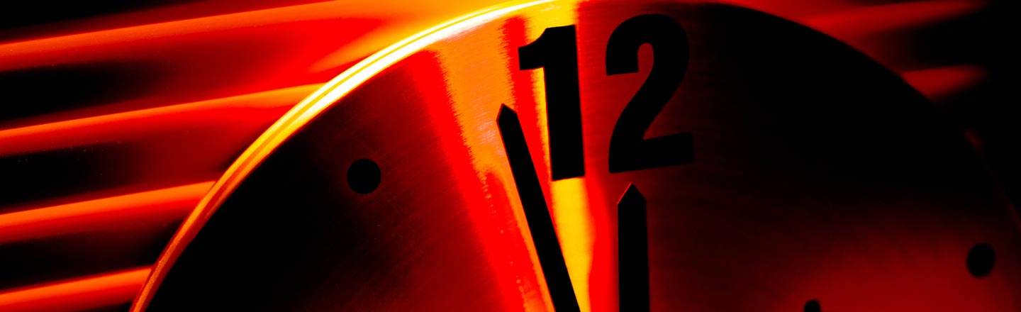 Reminder: The Doomsday Clock Is A Load Of Bullshit
