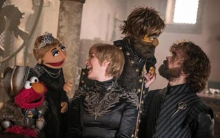 Behold The Official Sesame Street/Game Of Thrones Crossover