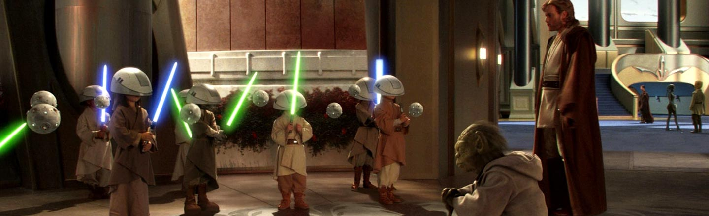 Laugh At Children Falling In The New 'Star Wars' Game Show