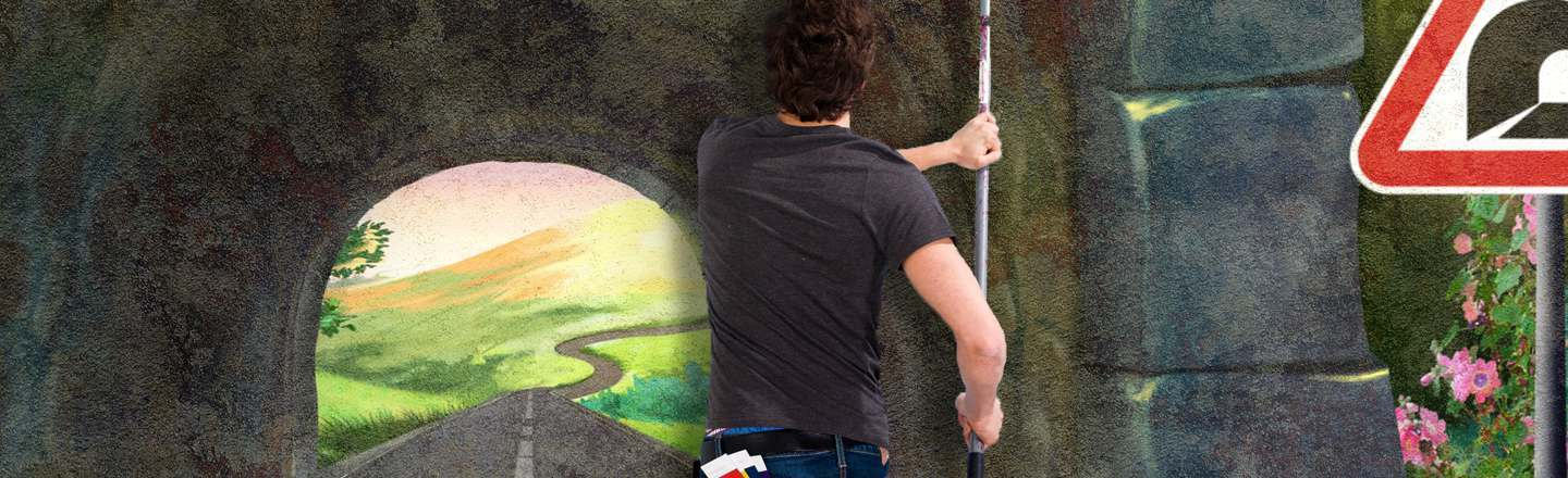 4 Things To Consider When Painting A Tunnel On A Wall