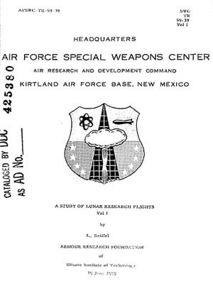 The plan was co-authored in partnership between the U.S. Air Force and every James Bond villain.