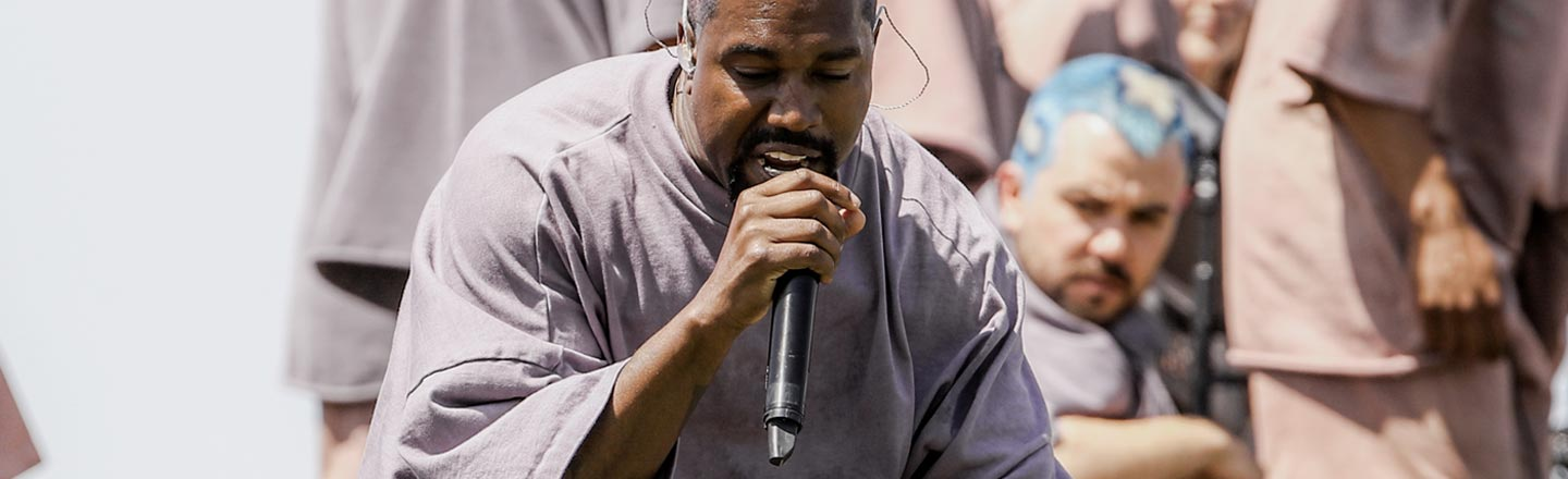Kanye West Went To Coachella, Sold Overpriced Church Shirts