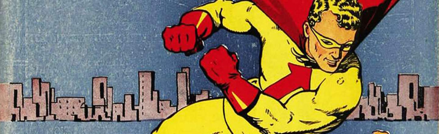 3 Golden Age Comic Book Heroes Who Got Left There, Part 1