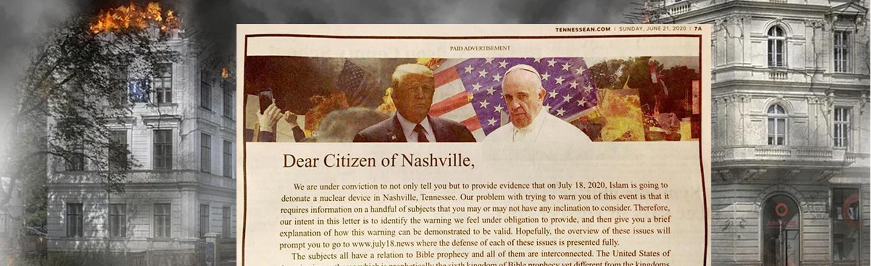 Nashville Newspaper Publishes A Bananapants BS Warning Of Islamic Nuclear Attack