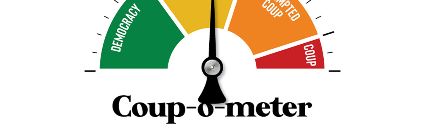 Coup-O-Meter Shows Exactly How Screwed Our Democracy is Right Now