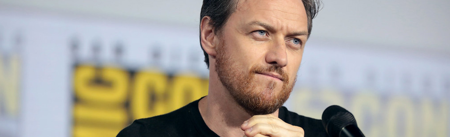 Movie Studio Expects James McAvoy To Solve A Crime In Real-Time