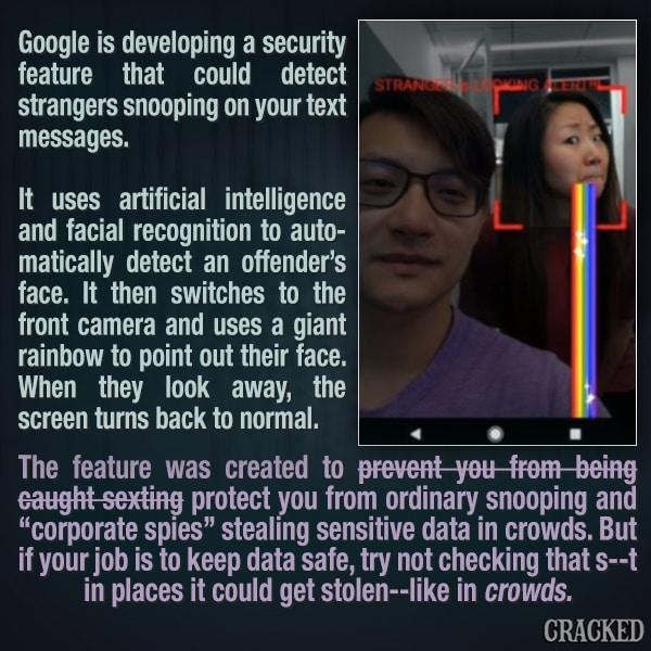 Google's Screen Snooper Alert Software Has Dark Potential