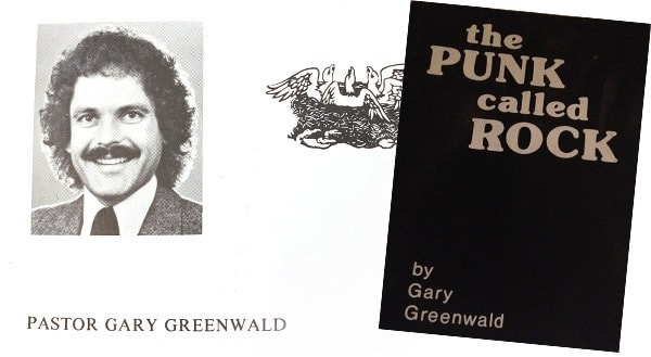 the PUNK called ROCK by Gary Greenwald PASTOR GARY GREENWALD