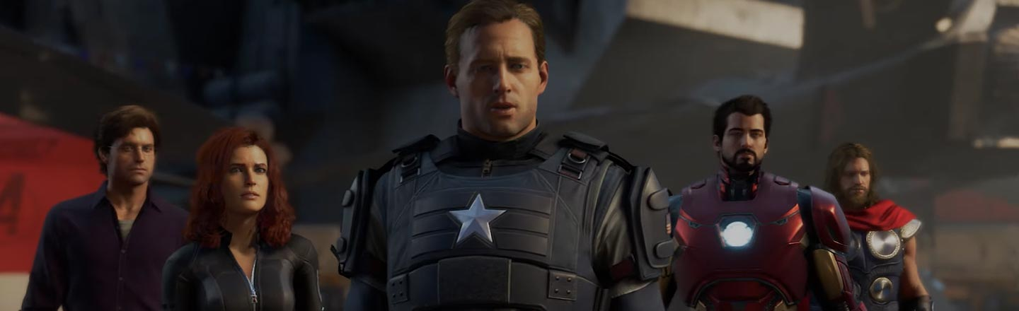 The New Avengers Video Game Is Weirding Out The Internet
