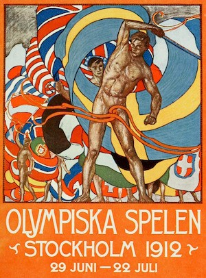 Back In The Day, They Had An Olympic Gold Medal For Art