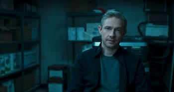 It sure was good that the level-headed and clearly large-penised CIA agent played by Martin Freeman came along to save Wakanda, right?