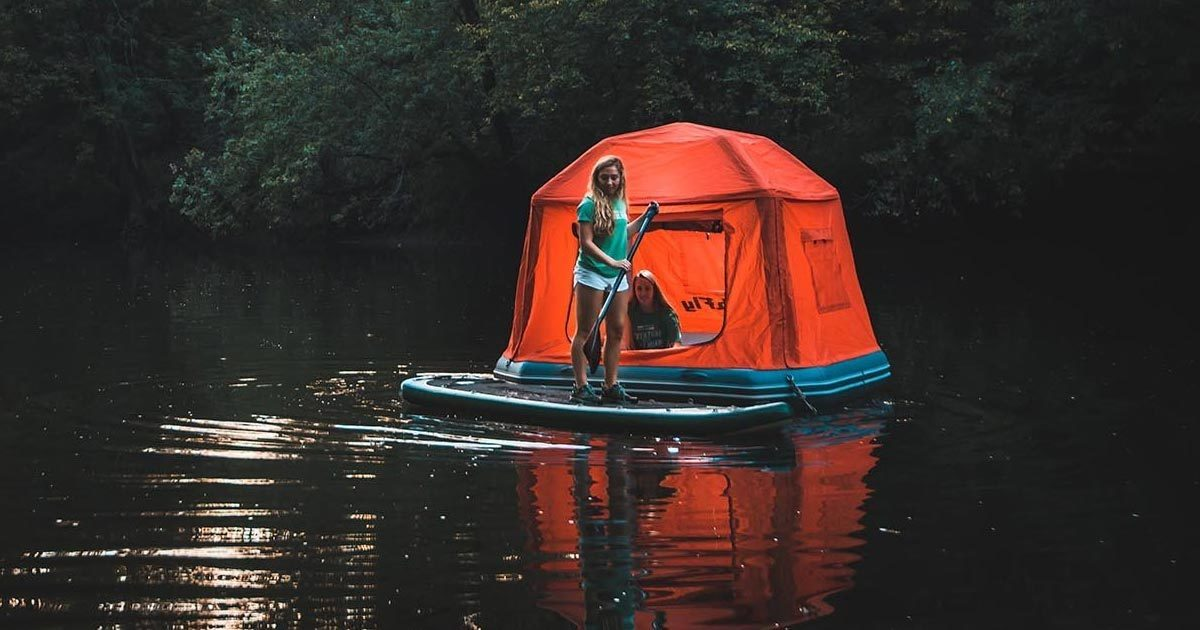 Like Dying? Then This Floating Tent Is For You.