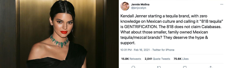 The Internet Roasts Kendall Jenner For Secret Tequila Line