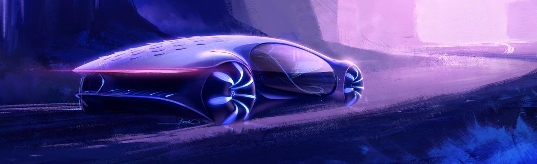For No Reason, Mercedes-Benz Made An 'Avatar' Car