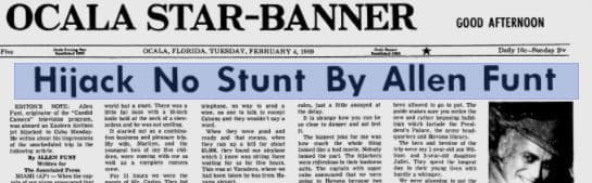 5 Newspaper Articles From History You'll Swear I'm Making Up