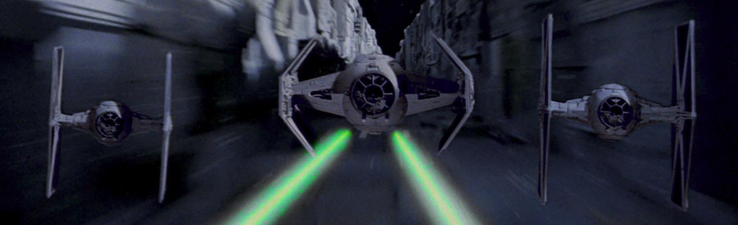 The TIE Fighter Pilot Who Saved The Day in 'Star Wars'