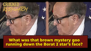 Correction: Brown Stuff Leaking Down Rudy Giuliani's Face Likely Not Hair Dye, Experts Say