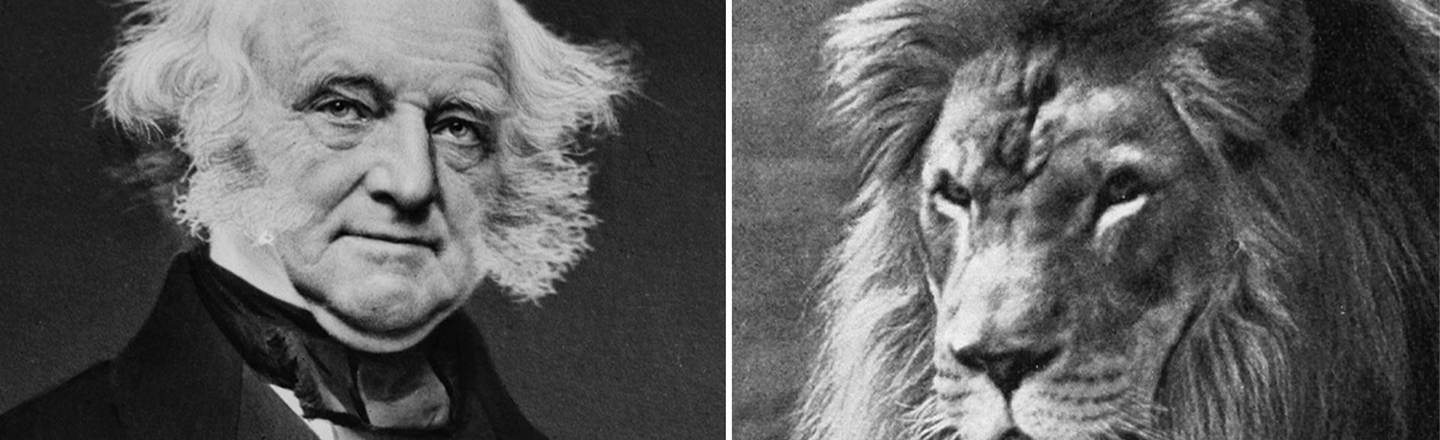 U.S. Presidents Can't Really Accept Gifts (Except For Occasional Lions)