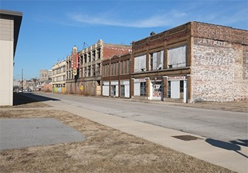 Robot Trucks Will Soon Screw Up The U.S.A. (And Nobody's Talking About It) - an empty street in Gary, Indiana