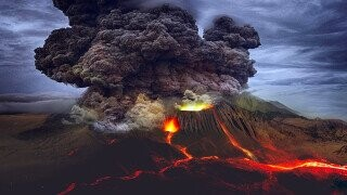 Lava Lockup -- The Man Who Rode Out A Volcanic Eruption In His Cell
