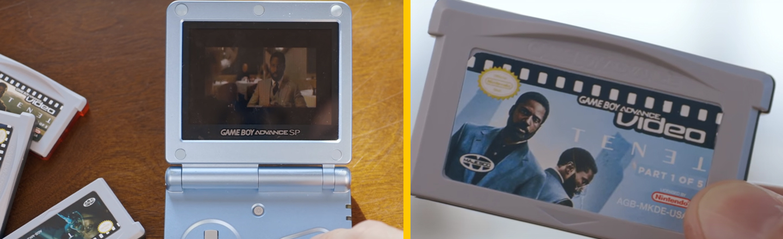 YouTuber Burns 'Tenet' on Game Boy Cartridge To Spite Christopher Nolan