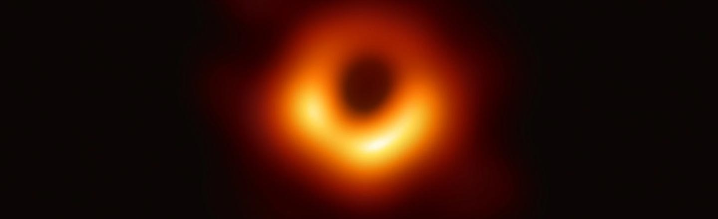 The Black Hole Picture Spawned The Saddest Conspiracy Theory