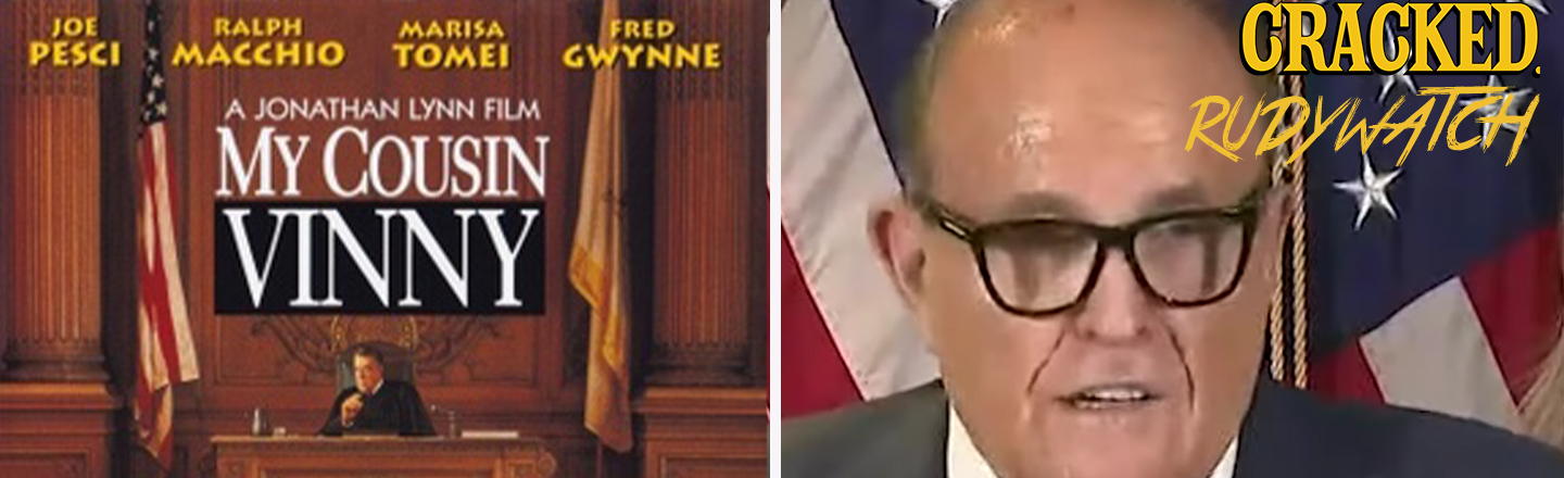'My Cousin Vinny' Director Roasts 'Borat 2' Star Rudy Giuliani Over Press Conference Film Reference