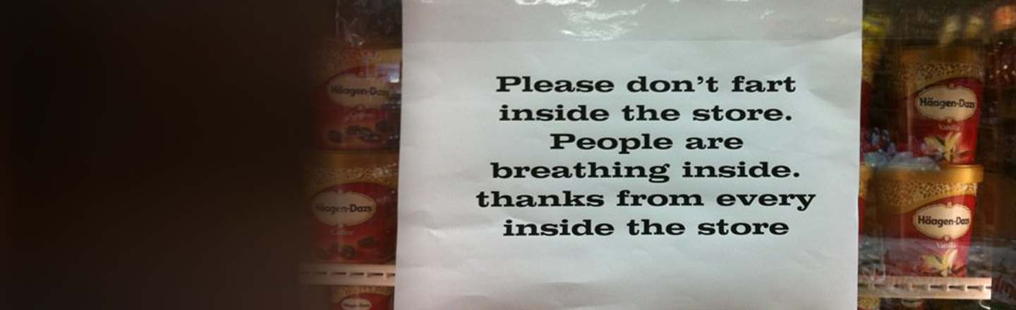 8 Insane Passive Aggressive Signs Used By Actual Businesses